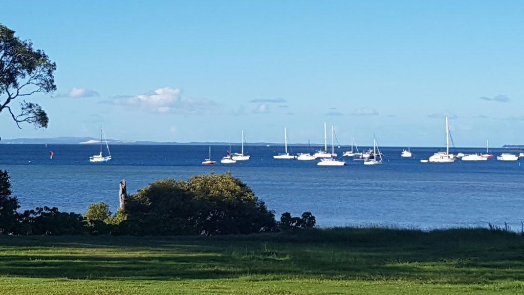 NW View from Little Ships Club, Little Ships Club, Dunwich, © copyright 10-02-2018, Jody Kreuger, Jody Kreuger, Boating and Diving Officer, Griffith University