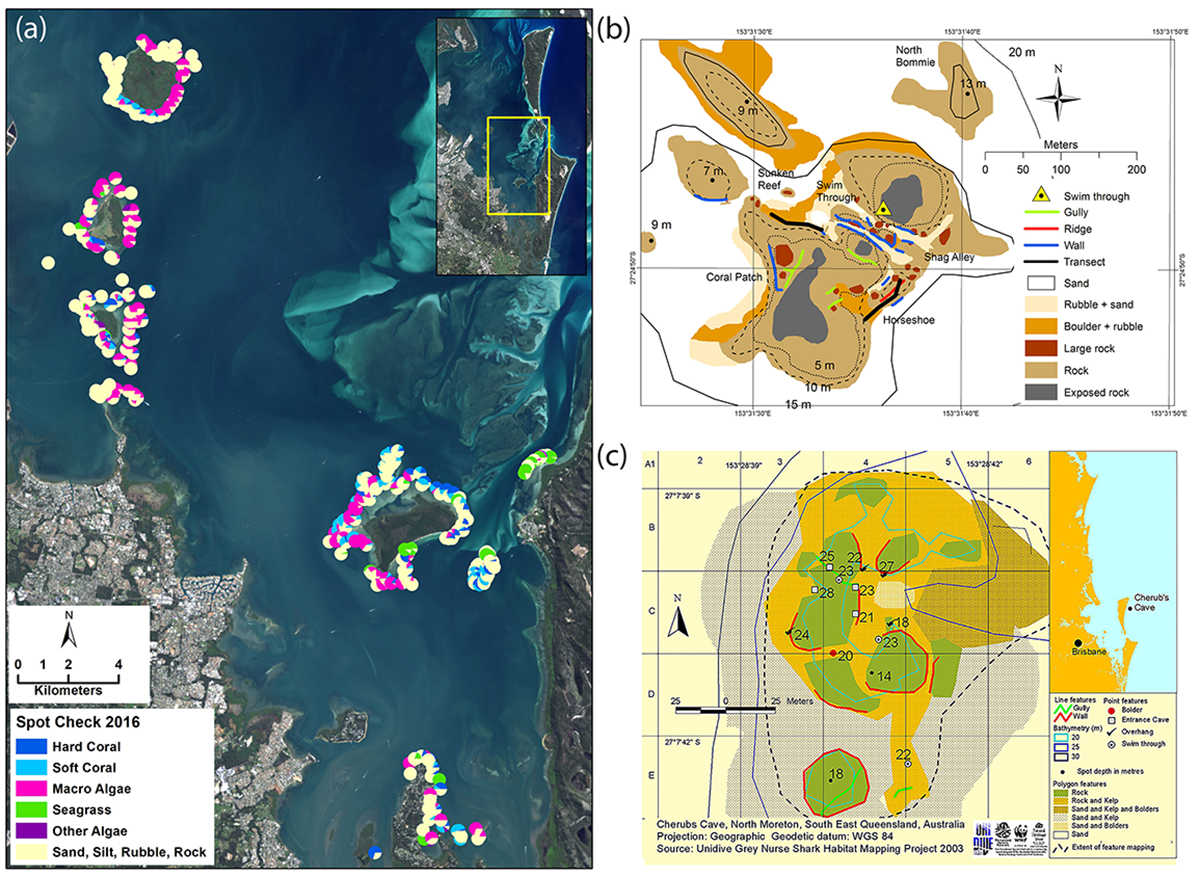 Citizen science reef mapping in Moreton Bay Marine Park by Reef Check, and UniDive