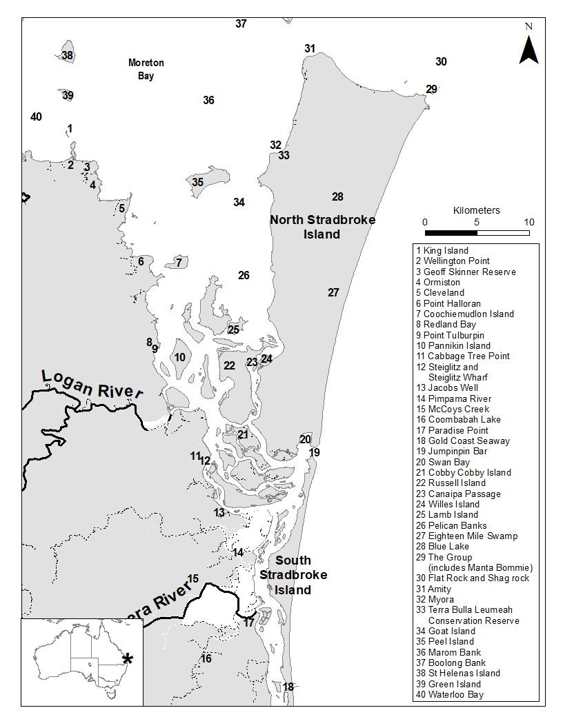 Moreton Bay – Southern Bay