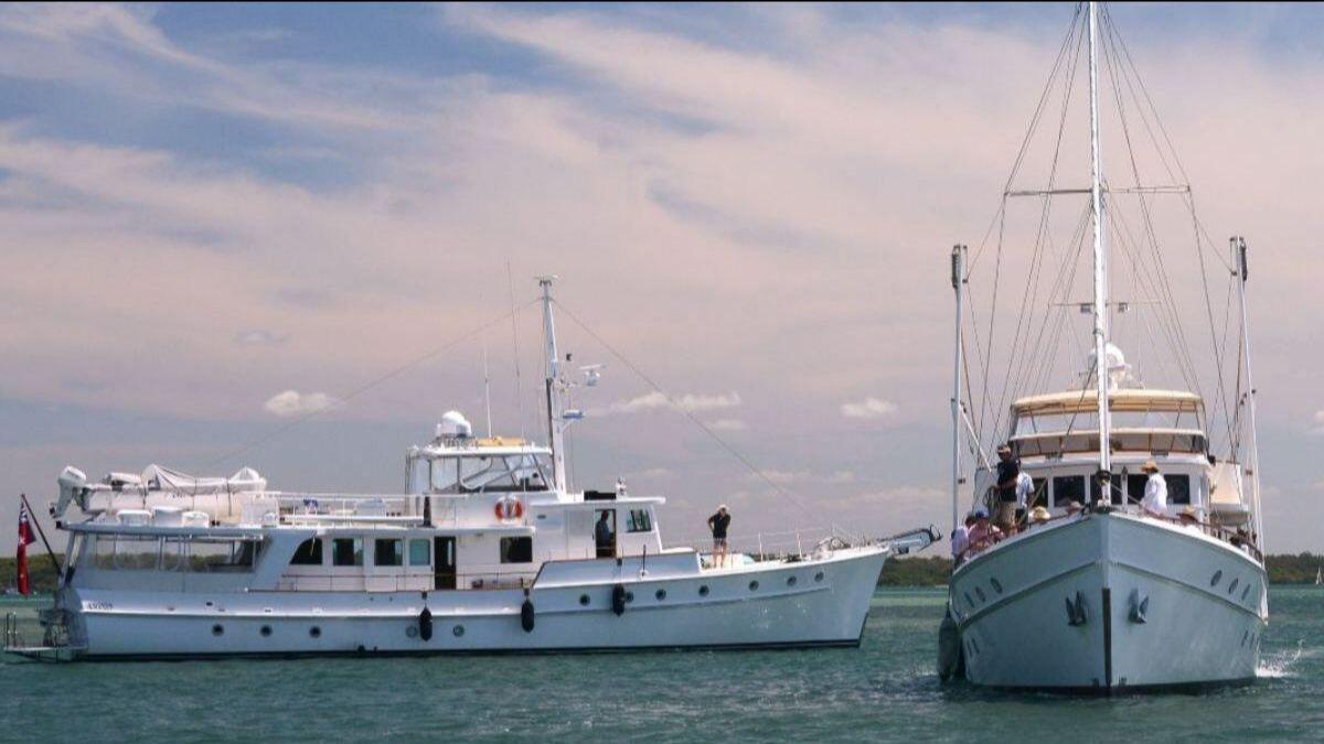 Moreton Bay Cruisers South Pacific 2 and Bali Hai