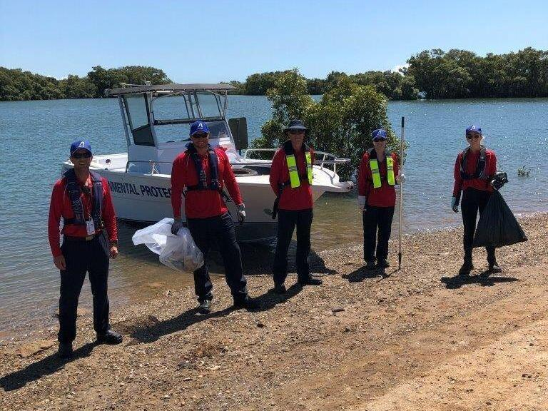 Ampol team cleans up local waterways and help habitat restoration